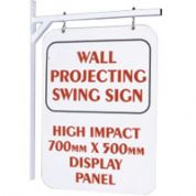 Wall Mounted Swing Sign